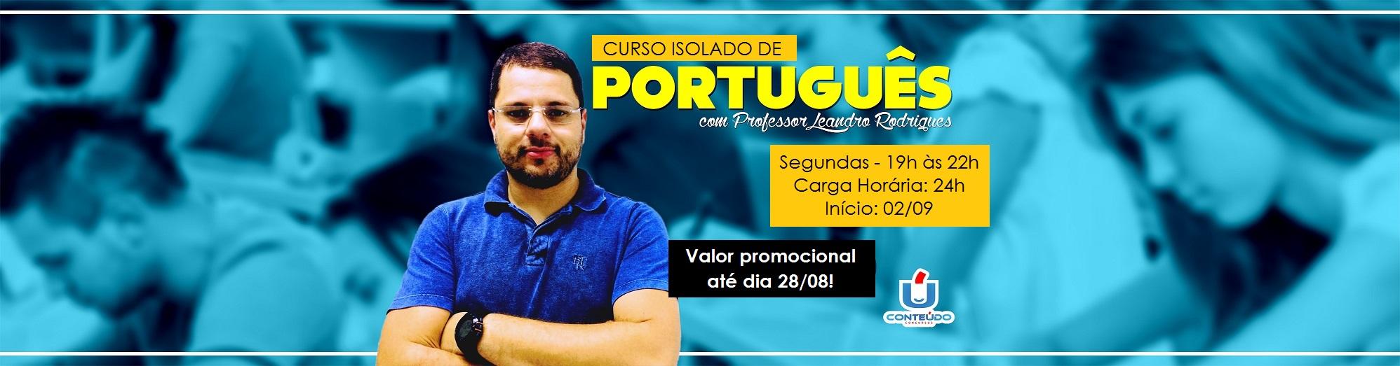 isolado de portugues